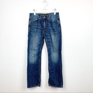 American Eagle Straight Leg Blue Jeans